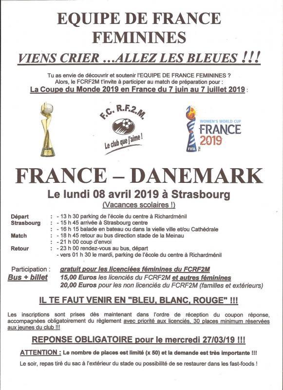 Affiche france danemark feminines 080419 001