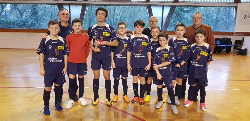 Finale championnat futsal u13 rf2m 2eme le 130119