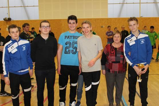 U17b coupe futsal 2016